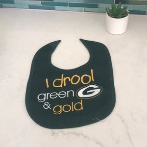 Other - Baby Greenbay Packers Bib